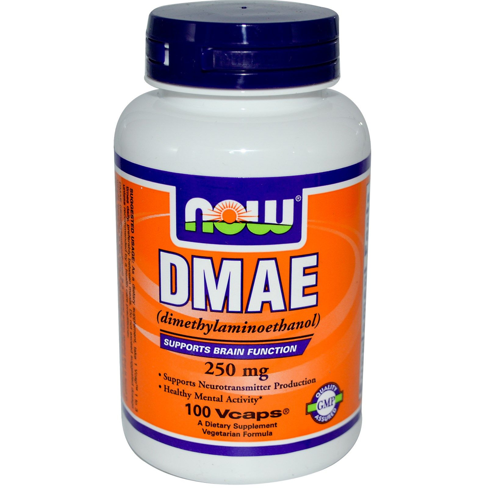Now Foods DMAE 250mg 100 kaps.