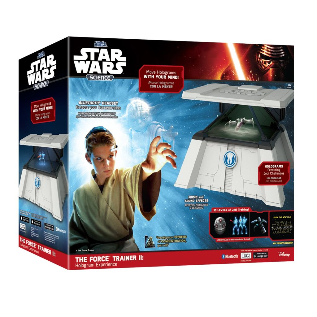Star Wars Force Trainer II - Zostań Mistrzem Jedi! - firmy  Uncle Milton Industries
