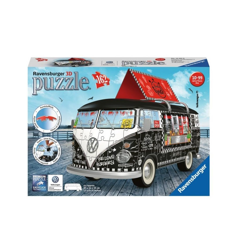 Puzzle 3D VW Bus Food Truck 162el.