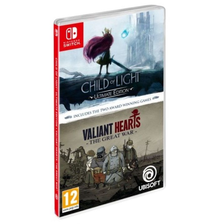 Child of Light + Valiant Hearts The Great War NS